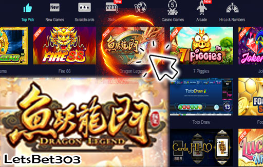 Slot Onfire Dragon Legend Sbobet